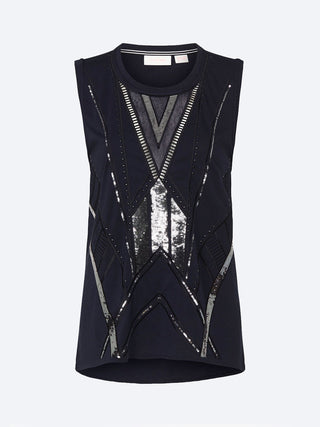 Yeltuor - SASS & BIDE - Tops - SASS & BIDE ON THE HORIZON TANK -  -