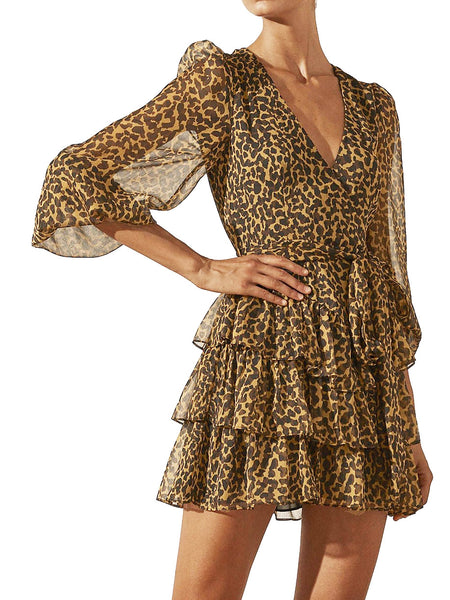 Yeltuor - SHONA JOY - Dresses - SHONA JOY RAPHAEL LONG SLEEVE MINI DRESS -  -