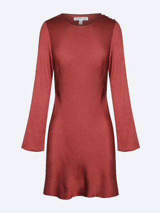Yeltuor - SHONA JOY - Dresses - SHONA JOY JOAN LONG SLEEVE BIAS DRESS -  -