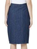 Yeltuor - SKIN & THREADS - Skirts - DENIM BUTTON THROUGH SKIRT -  -