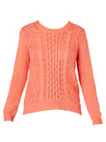 Yeltuor - SKIN & THREADS - Knitwear - SKIN & THREADS COTTON CABLE KNIT -  -