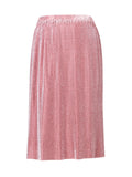 Yeltuor - SKIN & THREADS - Skirts - SKIN & THREADS METALLIC PLEAT SKIRT -  -