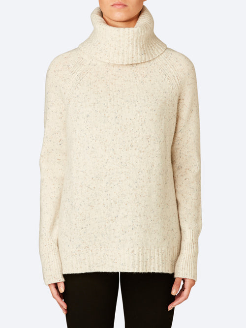 Yeltuor - SKIN & THREADS - Knitwear - SKIN & THREADS ROLL NECK SIDE SPLIT SWEATER -  -
