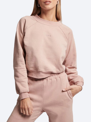 Yeltuor - SOFIA - Tops - SOFIA COTTON SWEAT - PINK -  8