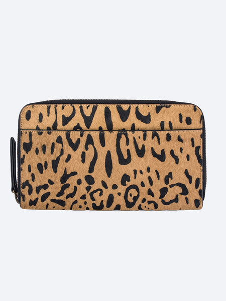Yeltuor - STATUS ANXIETY - WALLETS - STATUS ANXIETY DELILAH WALLET - LEOPARD -  ALL