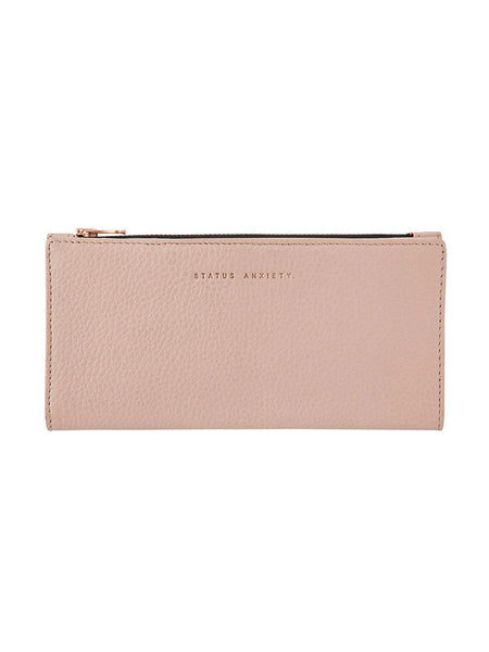 Yeltuor - STATUS ANXIETY - WALLETS - STATUS ANXIETY IN THE BEGINNING WALLET - DUSKY PINK -  N/A