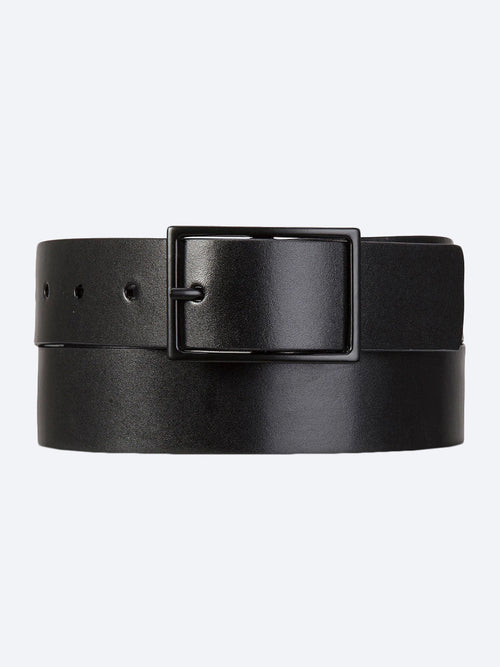 Yeltuor - STATUS ANXIETY - BELTS - STATUS ANXIETY NATURAL CORRUPTION BELT - Black -  S/M