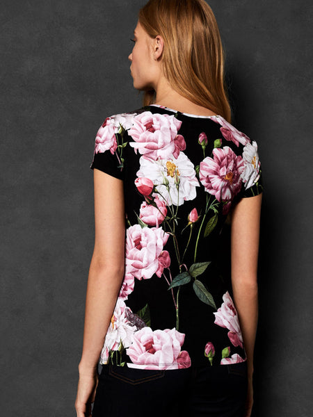 5b24c382a ... Yeltuor - TED BAKER - Tops - TED BAKER DALEZA IGUAZU FITTED TEE - ...