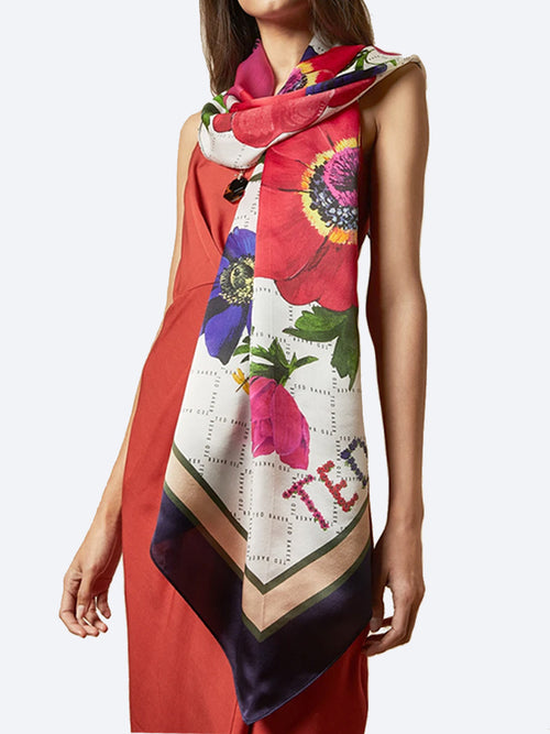 Yeltuor - TED BAKER - Accessories & Shoes - TED BAKER HUDAA SILK SCARF -  -