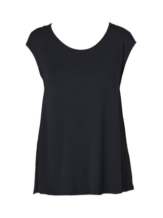 Yeltuor - TANI - Tops - TANI FLAIRED SWING TANK - BLACK -  10