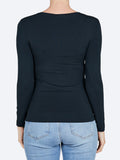 Yeltuor - TANI - TOPS - TANI LONG SLEEVE HIGH NECK TOP -  -