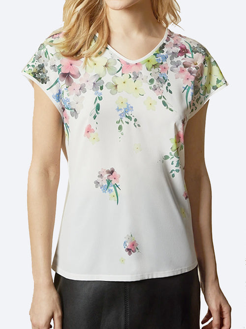 Yeltuor - TED BAKER - Tops - TED BAKER ALYSIN TEE -  -