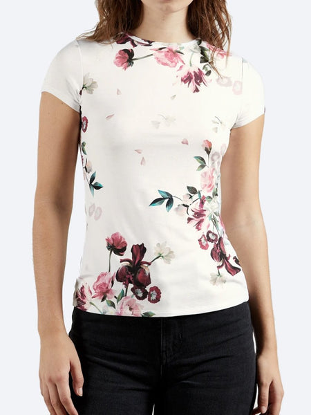 Yeltuor - TED BAKER - Tops - TED BAKER PERIIE TEE - WHITE -  1
