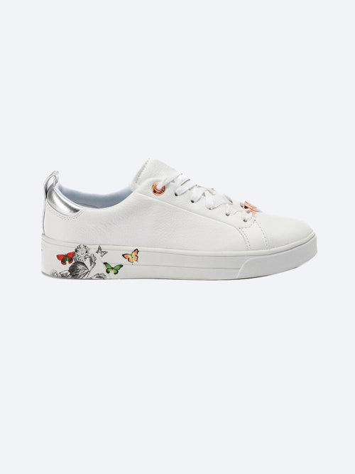 Yeltuor - TED BAKER - Accessories & Shoes - TED BAKER MISPIR LEATHER BUTTERFLY TRAINER -  -