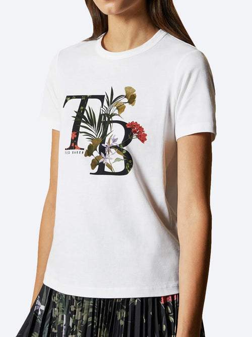 Yeltuor - TED BAKER - Tops - TED BAKER AYMELIA TEE -  -