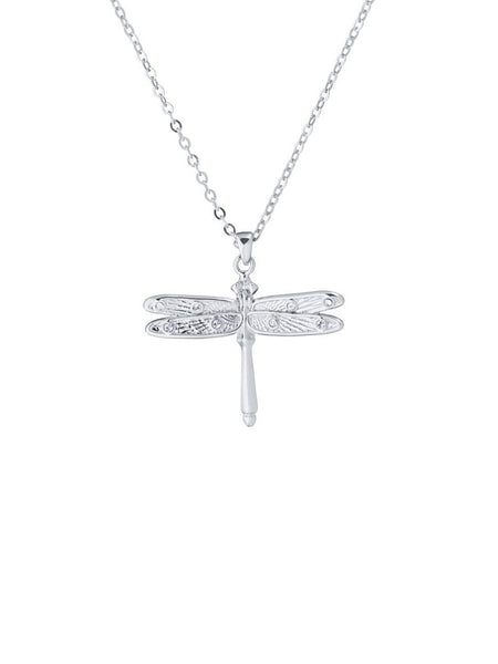 Yeltuor - TED BAKER - JEWELLERY - TED BAKER DELILAA DRAGONFLY SMALL PENDANT - SILVER -  ALL