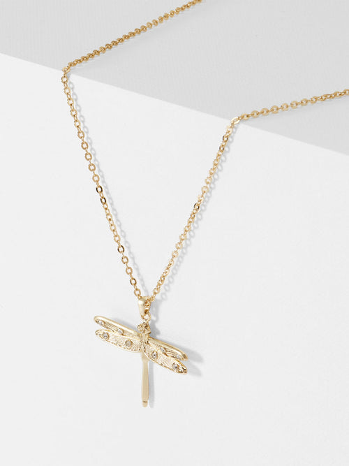 1a1d836d5dda7a Yeltuor - TED BAKER - JEWELLERY - TED BAKER DELILAA DRAGONFLY SMALL PENDANT  - -