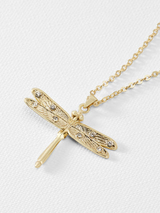 1e3de5342c16ab Yeltuor - TED BAKER - JEWELLERY - TED BAKER DELILAA DRAGONFLY SMALL PENDANT  - GOLD -