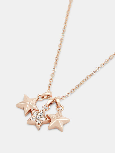 Yeltuor - TED BAKER - JEWELLERY - TED BAKER SHAMI TRIO STAR PENDANT -  -