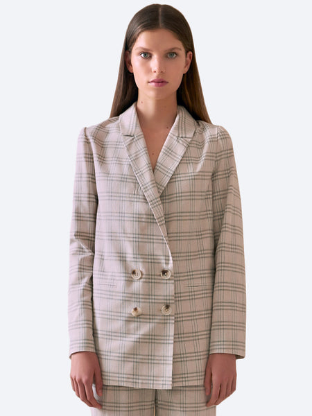 Yeltuor - THE FIFTH - Jackets & Coats - THE FIFTH LABEL THE VIOLET CHECK BLAZER -  -
