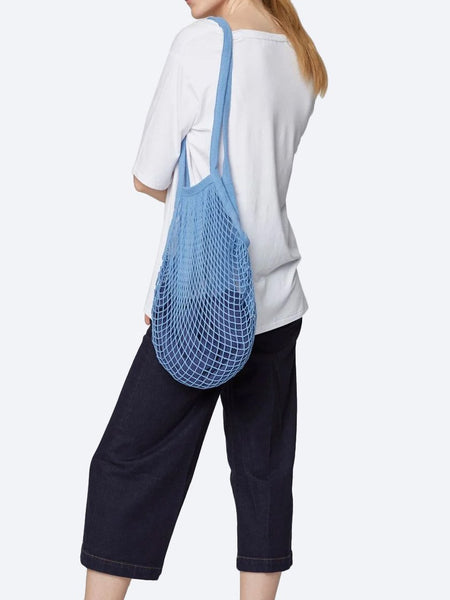 Yeltuor - THOUGHT - BAGS - THOUGHT ORGANIC COTTON STRING BAG - CHAMBRAY -  ALL