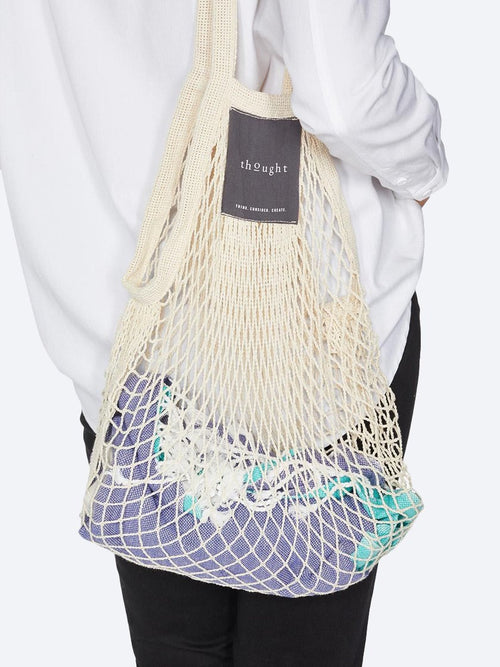 Yeltuor - THOUGHT - BAGS - THOUGHT ORGANIC COTTON STRING BAG - STONE -  ALL
