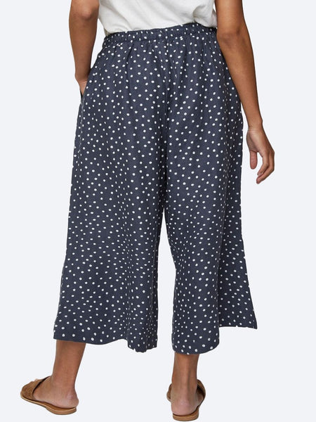 Yeltuor - THOUGHT - Pants - THOUGHT MIRIAM HEMP CULOTTES -  -