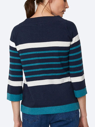Yeltuor - THOUGHT - Knitwear - THOUGHT SAIL LA VIE JUMPER -  -