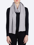 Yeltuor - TOORALLIE - Accessories & Shoes - TOORALLIE LINKS MERINO WOOL SCARF - GREY MARLE -  ALL
