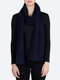 Yeltuor - TOORALLIE - Accessories & Shoes - TOORALLIE LINKS MERINO WOOL SCARF - MIDNIGHT -  ALL