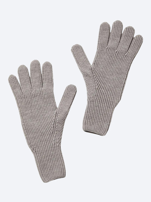 Yeltuor - TOORALLIE - Accessories & Shoes - TOORALLIE WOMENS MERINO WOOL GLOVE - GREY MARLE -  ALL