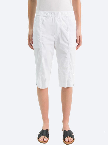 Yeltuor - VERGE - Shorts - VERGE ACROBAT ROLLED SHORT - WHITE -  10