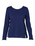 Yeltuor - VERGE - Tops - VERGE CLAUDE TOP - BLUEBERRY -  S