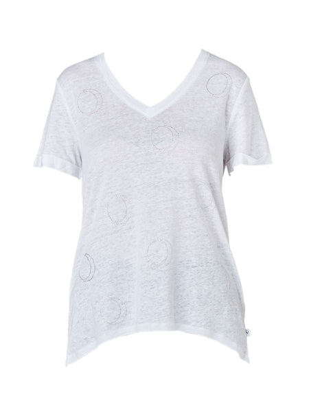Yeltuor - VERGE - Tops - VERGE CAREFREE TOP - IVORY -  XS
