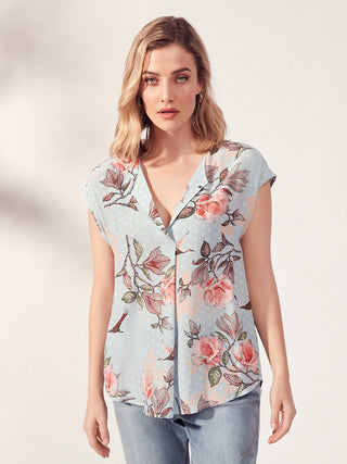 Yeltuor - VERGE - Tops - VERGE FLORA TOP -  -