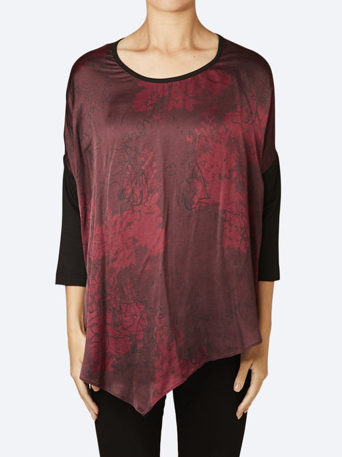 Yeltuor - VERGE - Tops - VERGE MULBERRY TOP -  -