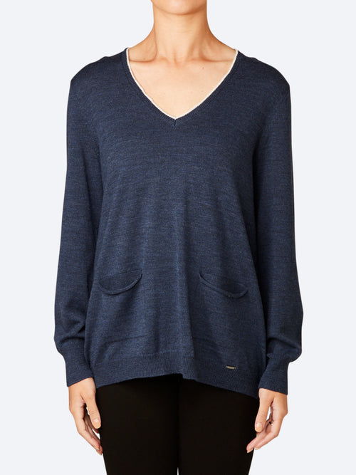 Yeltuor - VERGE - Knitwear - VERGE COLLIDE SWEATER -  -