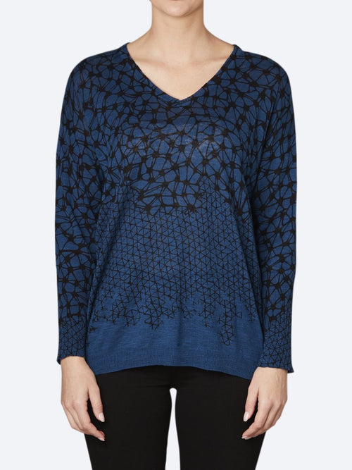 Yeltuor - VERGE - Knitwear - VERGE HIVE SWEATER -  -