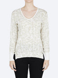 Yeltuor - VERGE - Knitwear - VERGE LEGEND SWEATER - WINTER WHITE -  XS