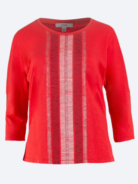 VERGE FREYA PANELLED SILK TOP