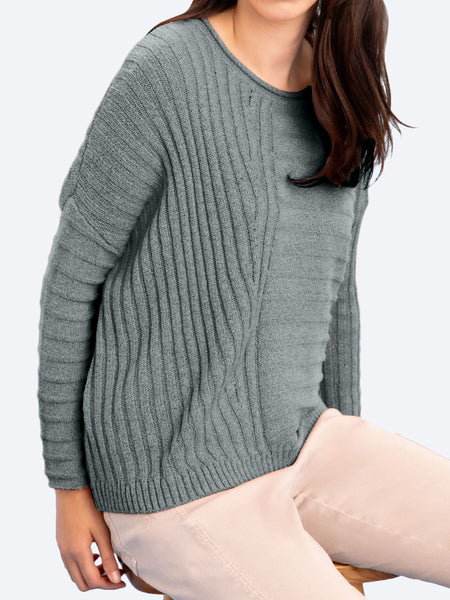 Yeltuor - VERGE - Tops - VERGE ASHER COTTON SWEATER -  -