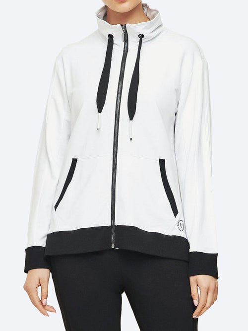 Yeltuor - VERGE - Jackets & Coats - VERGE CHOSEN JACKET - WHITE/BLACK -  S
