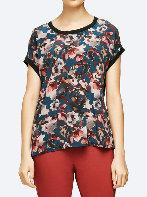 Yeltuor - VERGE - Tops - VERGE PURSUIT SILK TOP -  -