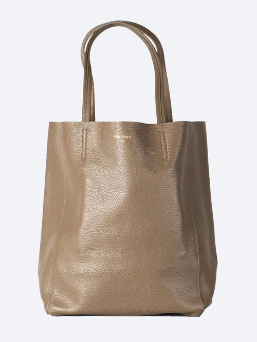 Yeltuor - VESTIRSI - Accessories & Shoes - VESTIRSI JILLIAN ITALIAN LEATHER TOTE BAG - TAUPE -  N/A