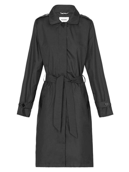 Yeltuor - PAQME - JACKETS & COATS - PAQME EVERYWHERE TRENCH - BLACK -  XS