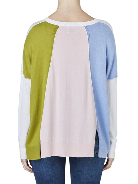 Yeltuor - ZAKET AND PLOVER - Knitwear - ZAKET & PLOVER THREE COLOUR BACK KNIT -  -