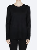 Yeltuor - ZAKET AND PLOVER - Knitwear - ZAKET & PLOVER CREW NECK KNIT - BLACK -  XS