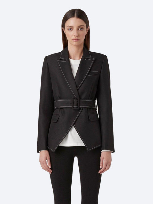 Yeltuor - CAMILLA AND MARC - Jackets & Coats - FAITH TOPSTITCH TWILL BLAZER -  -