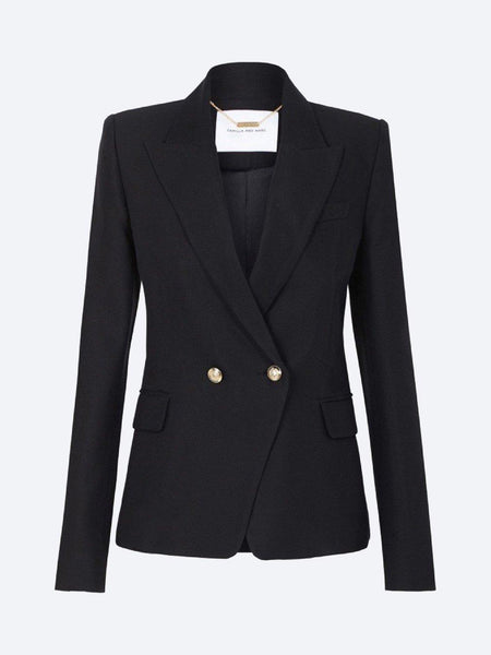 Yeltuor - CAMILLA AND MARC - Jackets & Coats - CAMILLA AND MARC MARGUERITE JACKET - BLACK -  6