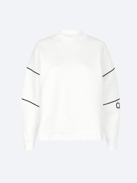 Yeltuor - CAMILLA AND MARC - Tops - CAMILLA AND MARC SYLVIE CREW SWEATER - WHITE -  6